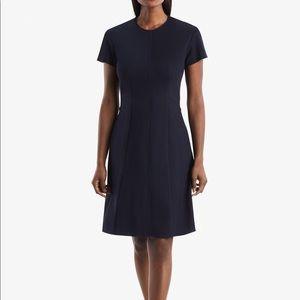 MM. LaFleur Navy Blue Coretta Dress